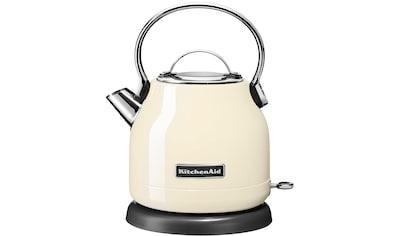 KitchenAid Wasserkocher, 5KEK1222EAC, 1,25 Liter, 2200 Watt kaufen
