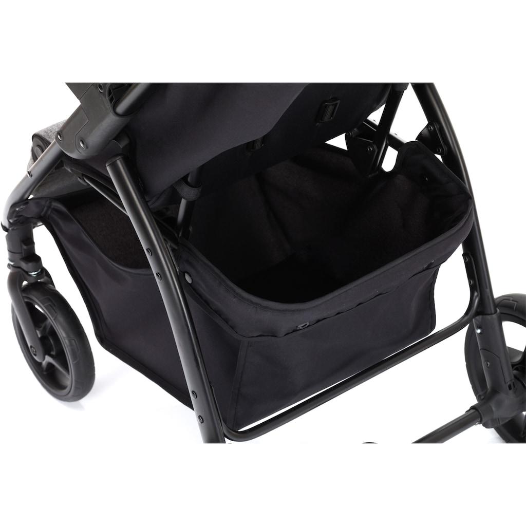 Fillikid Kinder-Buggy »Driver, hellgrau melange«, Kinderwagen, Buggy, Sportwagen, Sportbuggy, Kinderbuggy, Sport-Kinderwagen