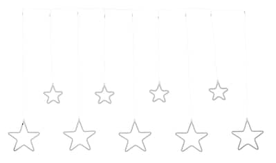 LED-Lichtervorhang »Sterne«, mit 864 warmweißen LEDs kaufen
