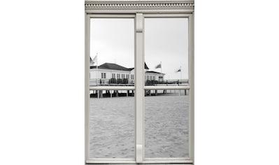 queence Wandsticker »Strandhaus« kaufen