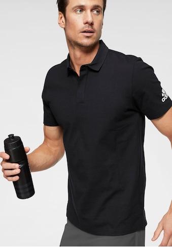 adidas Performance Poloshirt »MH PLAIN POLO«, mit versteckter Knopfleiste kaufen