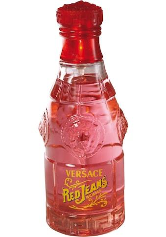 Versace Eau de Toilette »Red Jeans« kaufen