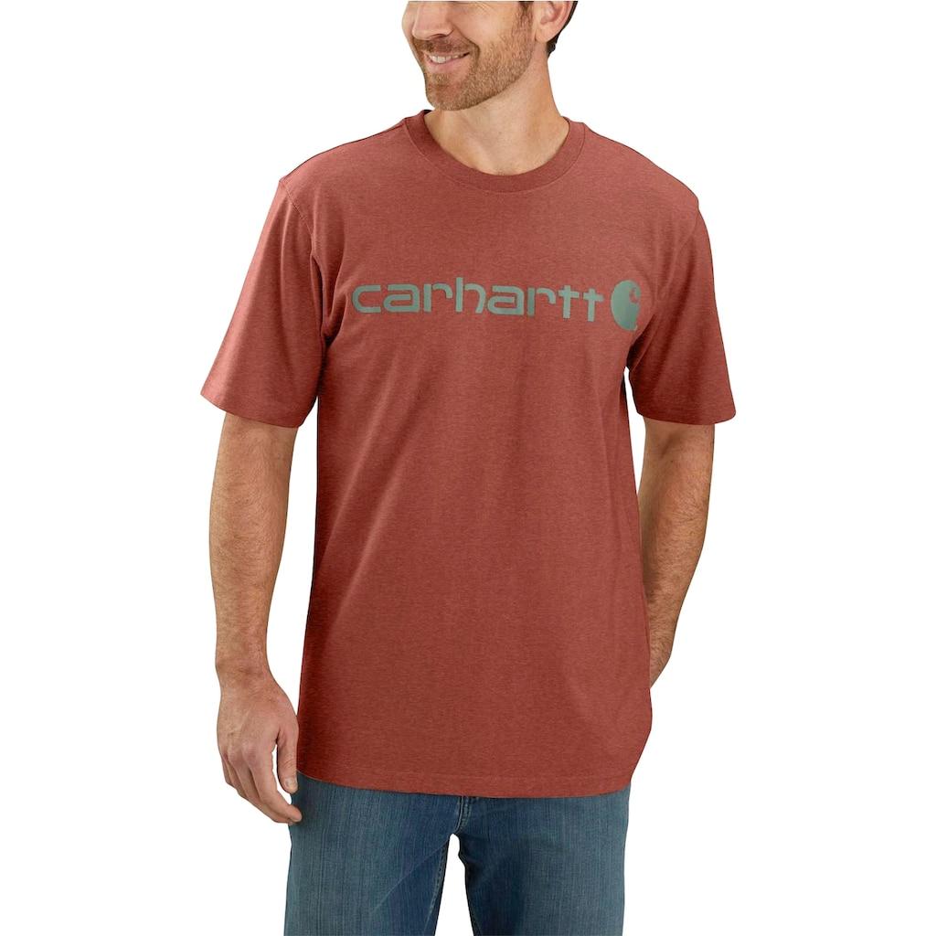 Carhartt T-Shirt, AUBURN HEATHER