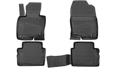 WALSER Passform-Fußmatten »XTR«, (5 St.), für Mazda 5, 7-Sitzer Bj 06/2010 - Heute kaufen