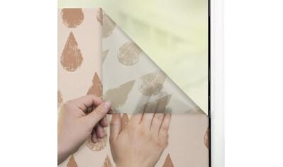 LICHTBLICK ORIGINAL Fensterfolie »Fensterfolie selbstklebend, Sichtschutz, Golden... kaufen