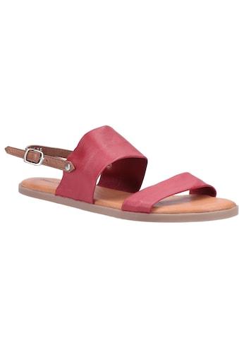 Hush Puppies Sandale »Damen Maria Schnalle Leder« kaufen