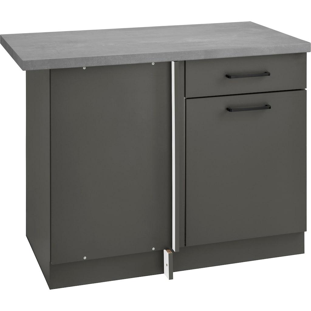 wiho Küchen Eckunterschrank »Esbo«, 110 cm breit