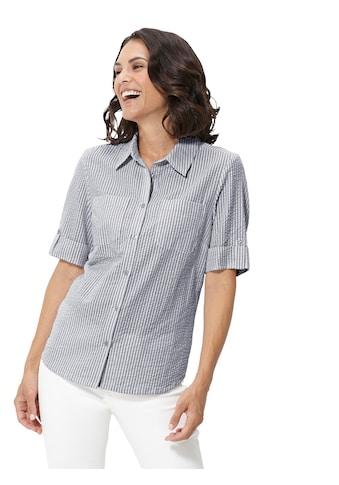 Casual Looks  Bluse in Seersucker - Qualität kaufen