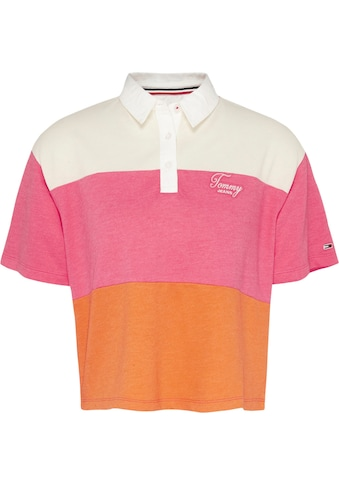 TOMMY JEANS Poloshirt »TJW COLORBLOCK LOGO POLO« kaufen