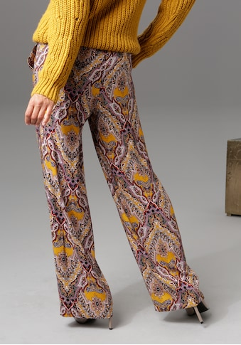 Aniston CASUAL Palazzohose, mit trendigem Mandala-Druck - NEUE KOLLEKTION kaufen