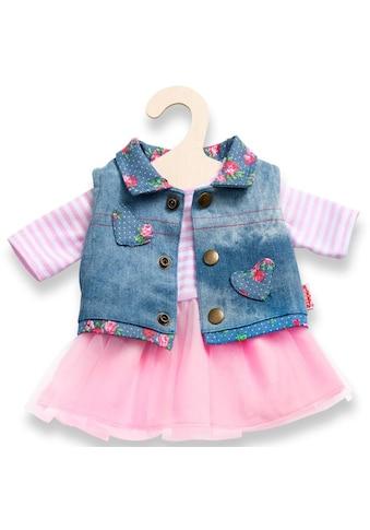 Heless Puppenkleidung »Tüllkleid mit Jeansweste«, (Set, 2 tlg.) kaufen