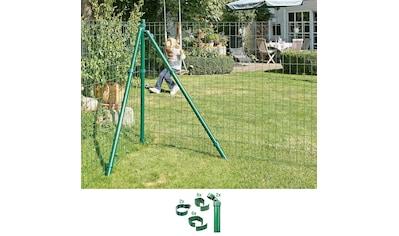 GAH Alberts Zaunpfosten »Verbinder Fix-Clip Pro®«, 2-seitig für Ø 6x102 cm, zum... kaufen