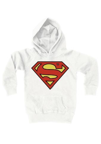 LOGOSHIRT Kapuzensweatshirt mit stylischem Superman-Aufdruck kaufen