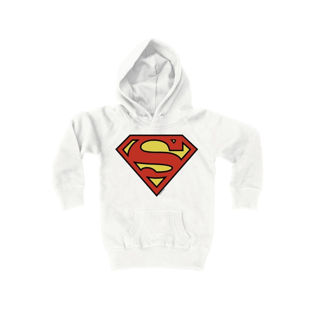 LOGOSHIRT Kapuzensweatshirt mit stylischem Superman-Aufdruck