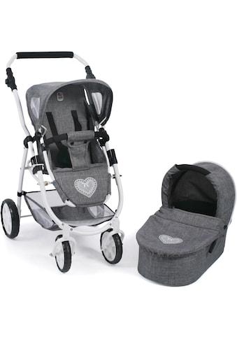 CHIC2000 Kombi-Puppenwagen »Emotion All In 2in1, Jeans Grey«, inkl. Babywanne und... kaufen