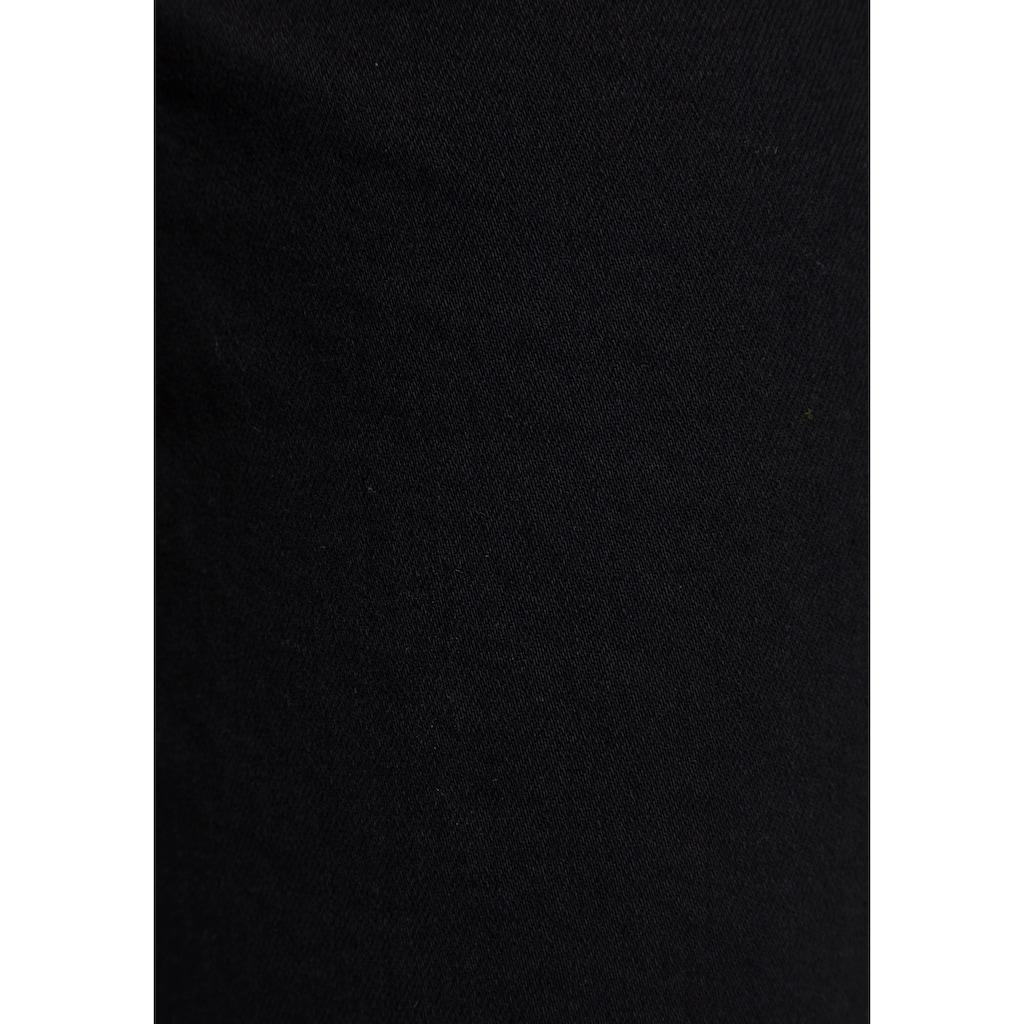 MAC Straight-Jeans »Melanie-New bright«, Mit neuer Taschenlösung und Nieten an den vorderen Taschen