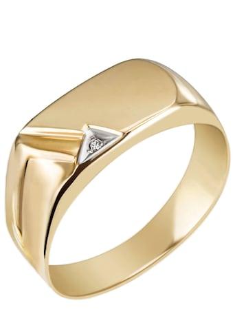 Ring Fingerring Herrenring Gold Silber Goldring Siegelring Edelstahl 56 69 62 64