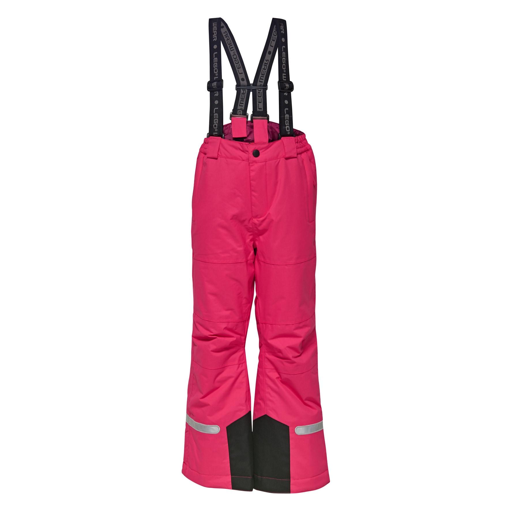 LEGO Wear Skihose PING 775 rosa Jungen Ski-Bekleidung Ski Sportarten