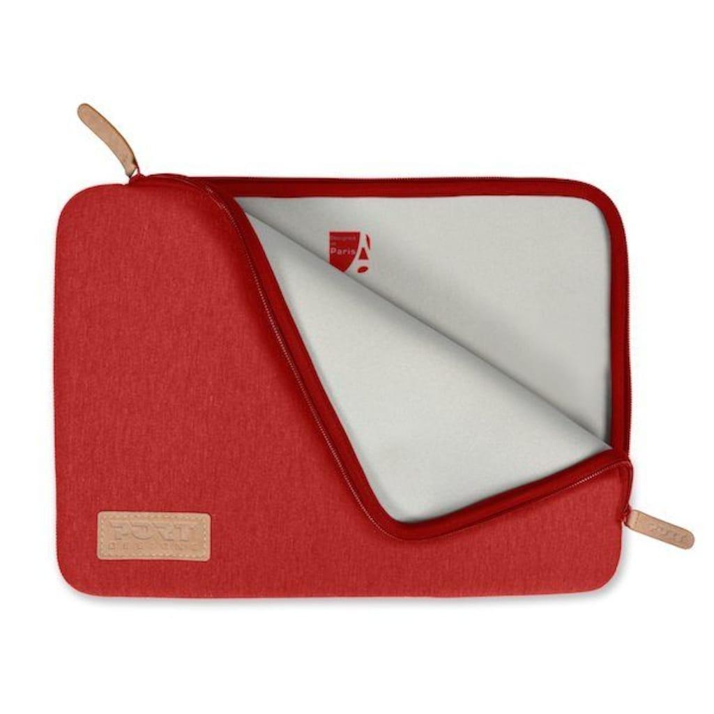 Port Designs Schutzhülle aus Bauwolljersey für 10/12 Zoll Notebooks