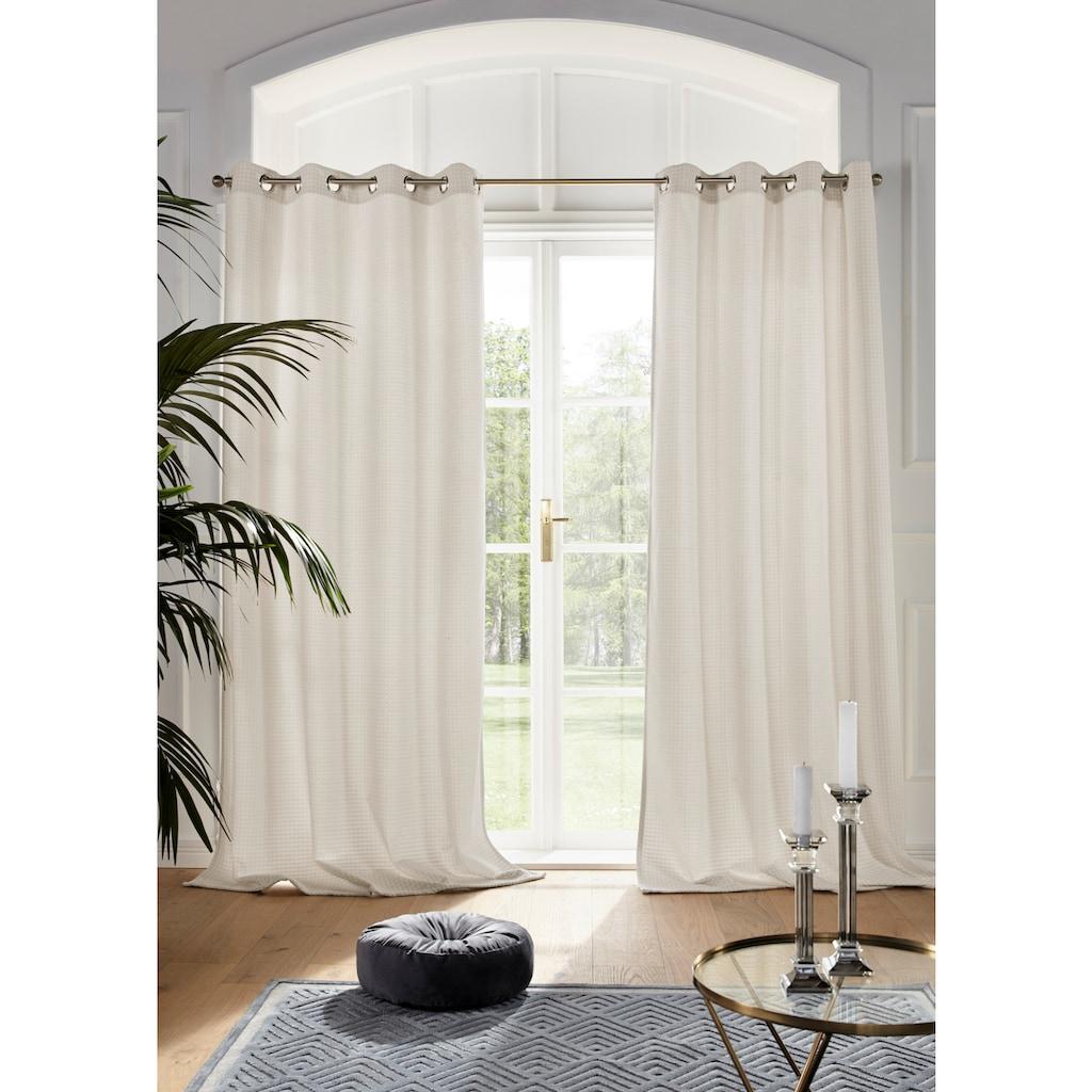 Guido Maria Kretschmer Home&Living Vorhang nach Maß »MANON«, blickdicht, monochrom, strukturierte Oberfläche