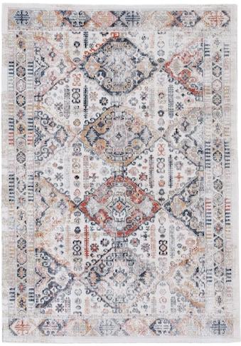 carpetfine Teppich »Omen_2«, rechteckig, 3 mm Höhe, Orient Vintage Look kaufen