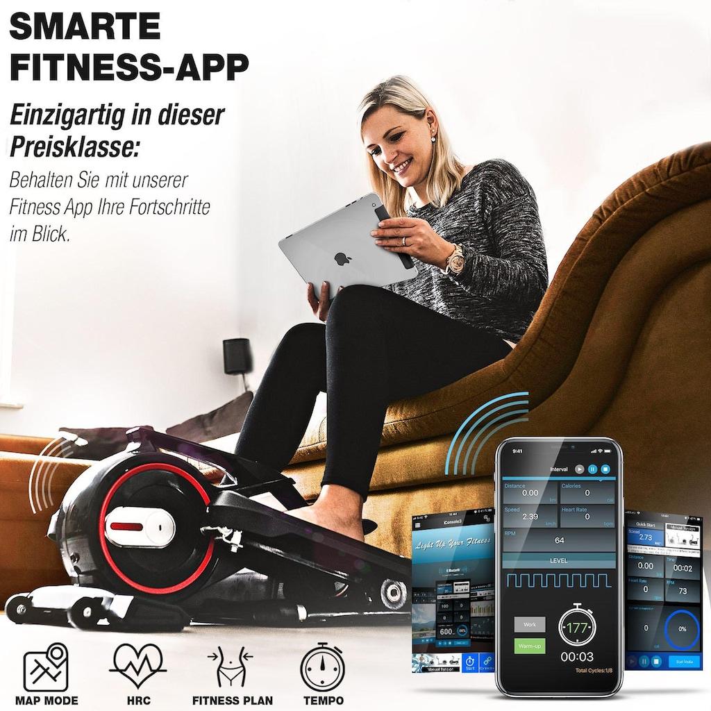 Deskfit Ellipsentrainer »DFX100«, App kompatible Konsole