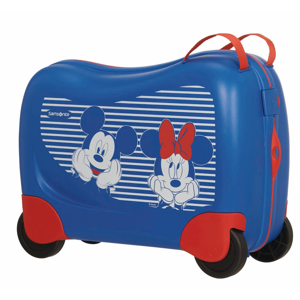 Samsonite Kinderkoffer »Dream Rider Disney, Minnie/Mickey Stripes«, 4 Rollen