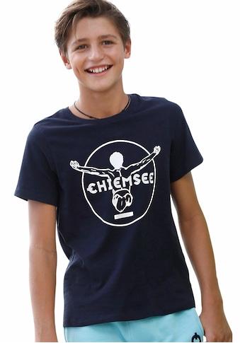 Chiemsee T-Shirt, mit Logodruck vorn kaufen