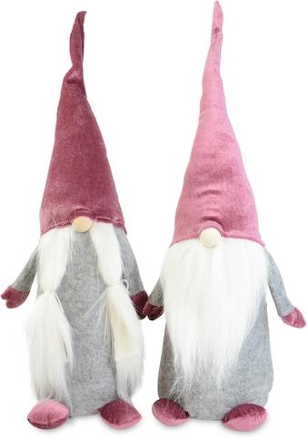 RIFFELMACHER & WEINBERGER Weihnachtsfigur »Wichtel Junge und Mädchen«, Höhe ca. 60 cm kaufen