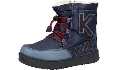 Kickers Schnürstiefelette »Lederimitat« kaufen