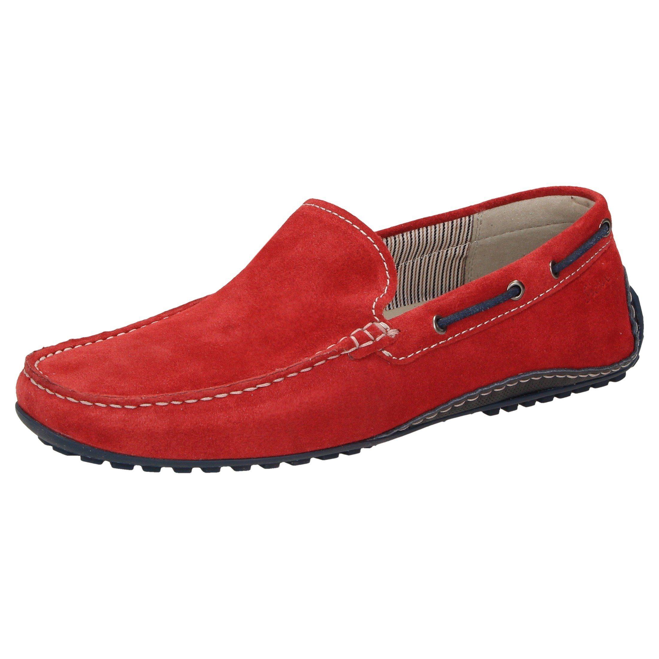 SIOUX Slipper Callimo   Schuhe > Slipper   Rot   Leder - Gummi   Sioux
