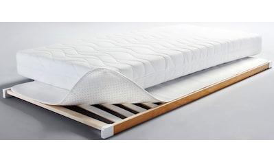 Dormisette Protect & Care Matratzenschoner »Noppen-Unterlage«, schützt die Matratze vor mechanischer Beanspruchung durch den Lattenrost kaufen