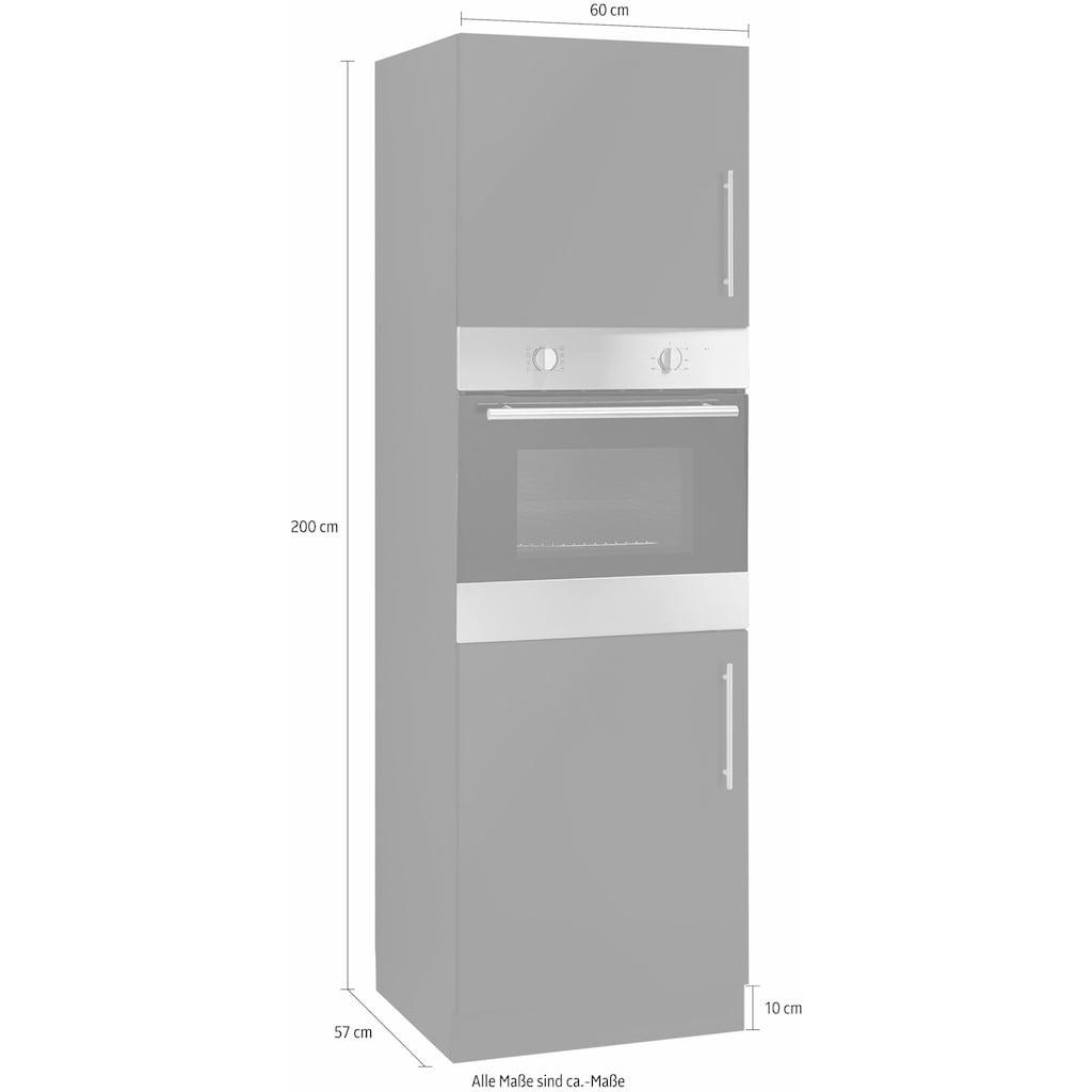 wiho Küchen Backofenumbauschrank »Cali«, 60 cm breit