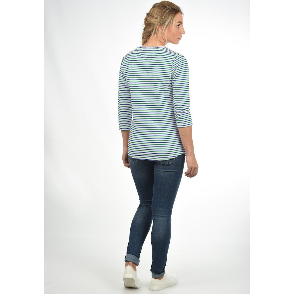 DESIRES 3/4-Arm-Shirt »Helene«, gestreiftes Sweatshirt