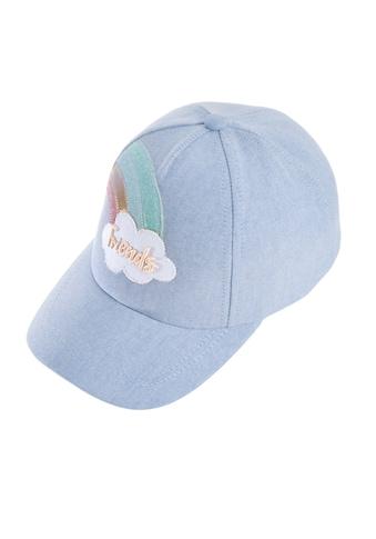 Chaplino Baseball Cap, mit Regenbogen kaufen