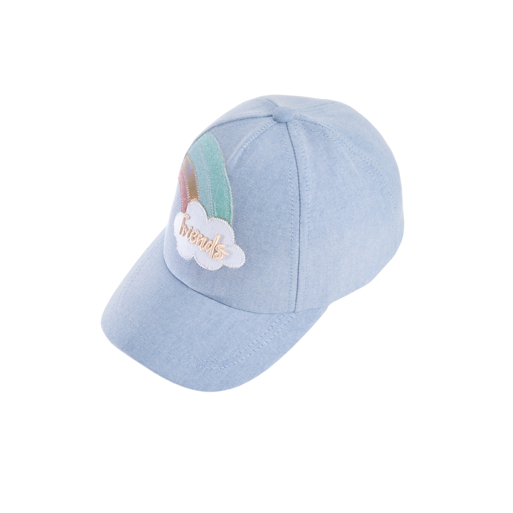 Chaplino Baseball Cap, mit Regenbogen