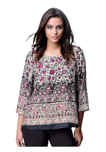 Alba Moda Bluse aus softer Ware mit schönem Glanz kaufen