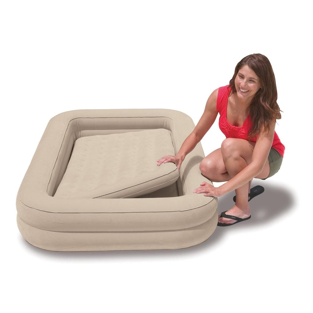 Intex Luftbett »Kidz Travel Bed Set«, (mit Transporttasche)