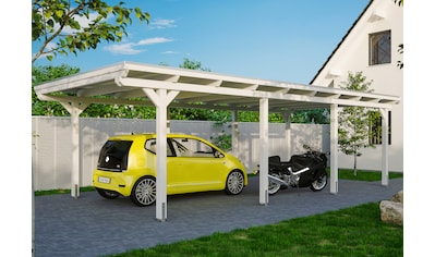 SKANHOLZ Einzelcarport »Emsland«, BxT: 404x846 cm kaufen