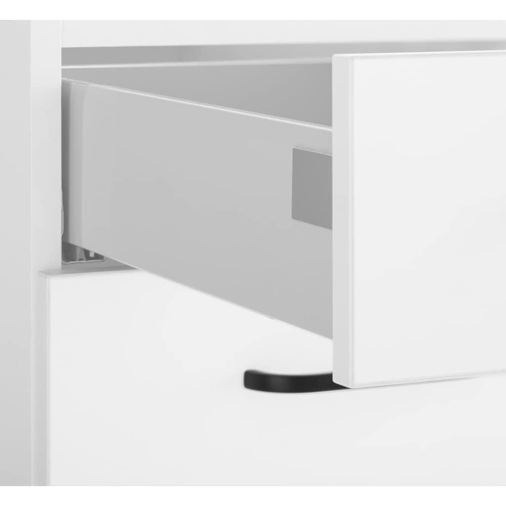 OPTIFIT Kochinsel »Elga«, ohne E-Geräte, mit Soft-Close-Funktion, großen Vollauszügen, höhenverstellbaren Füßen, Metallgriffen und 38 mm starker Arbeitsplatte, Stellbreite 150 x 95 cm