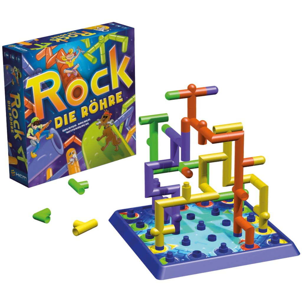 HCM KINZEL Spiel »Rock die Röhre«