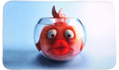 Sanilo Badematte »Goldfisch«, Höhe 15 mm, schnell trocknend, Memory Schaum kaufen