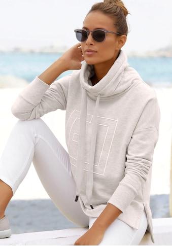Elbsand Sweatshirt »Birte«, mit Logostickerei kaufen
