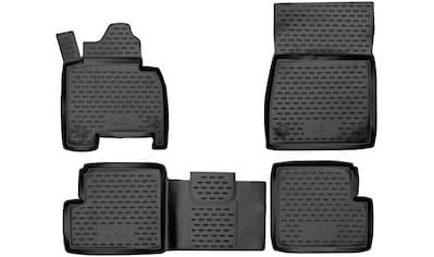 WALSER Passform-Fußmatten »XTR«, Mercedes, Gklasse, Geländewagen, (4 St., 2... kaufen