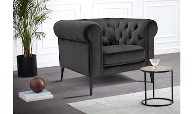 Premium collection by Home affaire Chesterfield-Sessel »Tobol«, im modernen Chesterfield Design kaufen