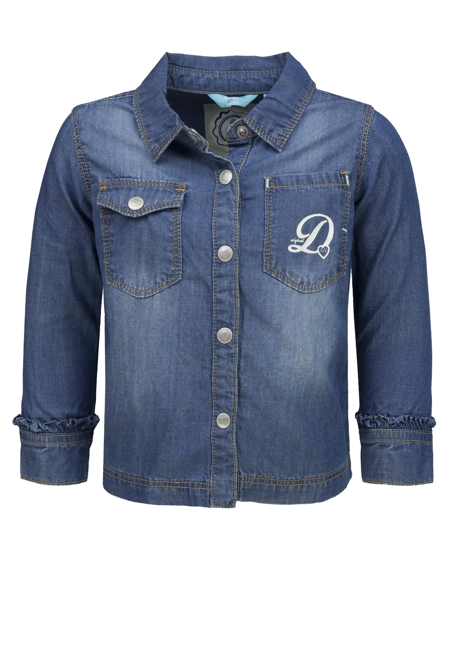 lief! Jeansbluse