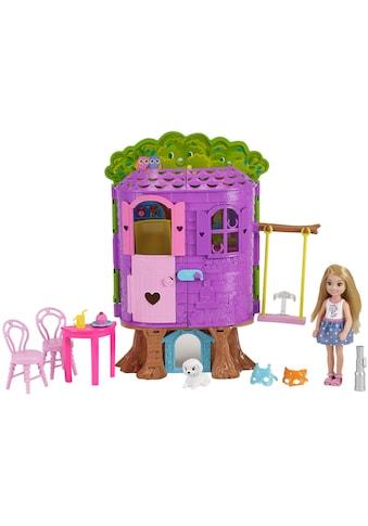 """Mattel® Puppenhaus """"Barbie Club Chelsea Baumhaus Spielset und Puppe"""" kaufen"""