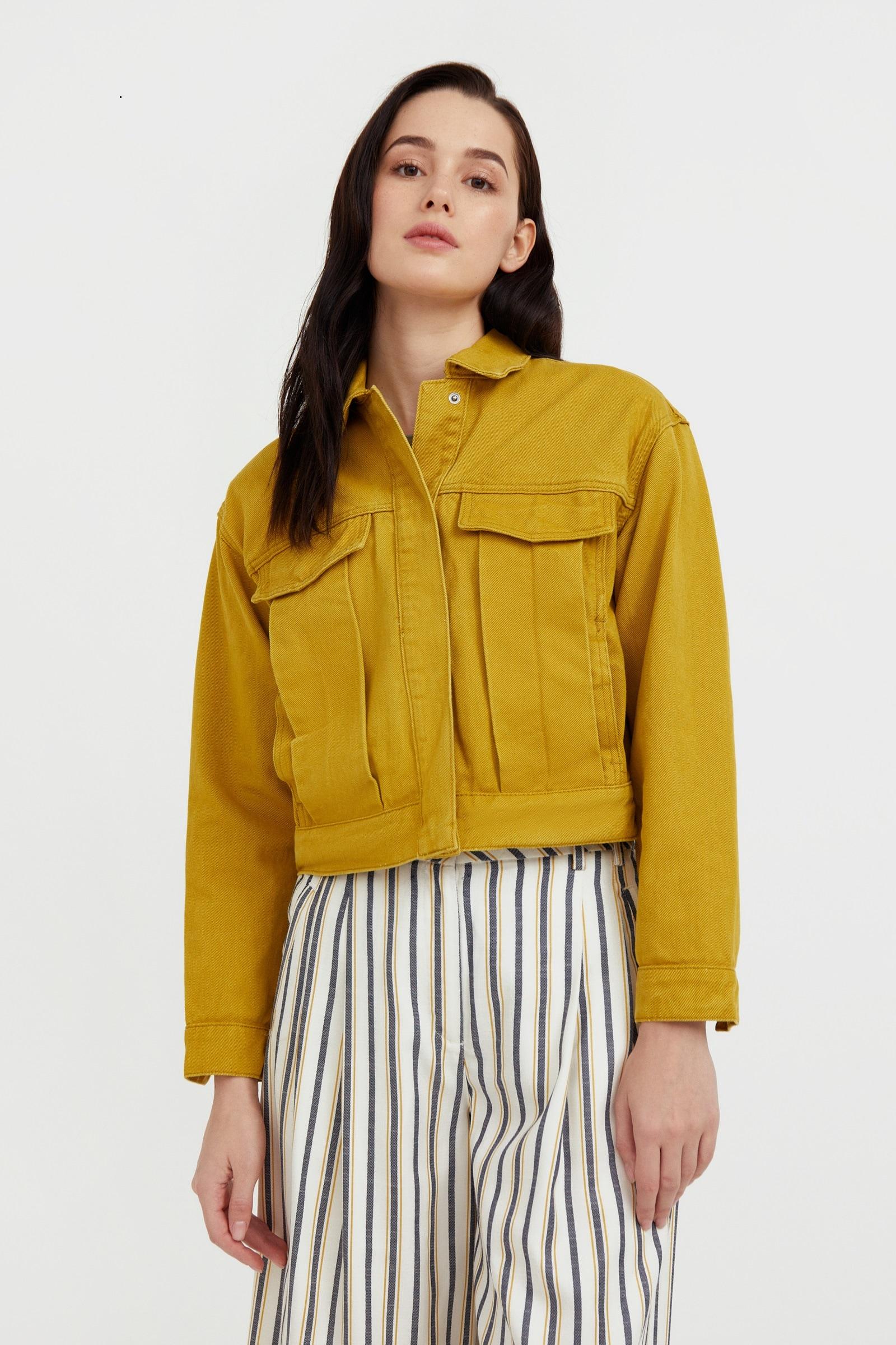 finn flare -  Jeansjacke, mit durchgehendem Knopfverschluss