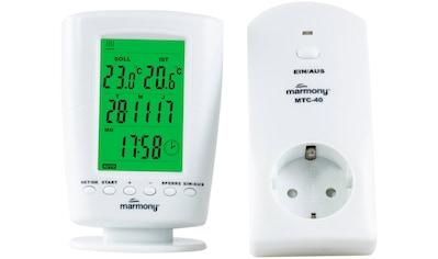 MARMONY Raumthermostat »MTC - 40«, Funk, Digitales Display, Fernbedienung kaufen