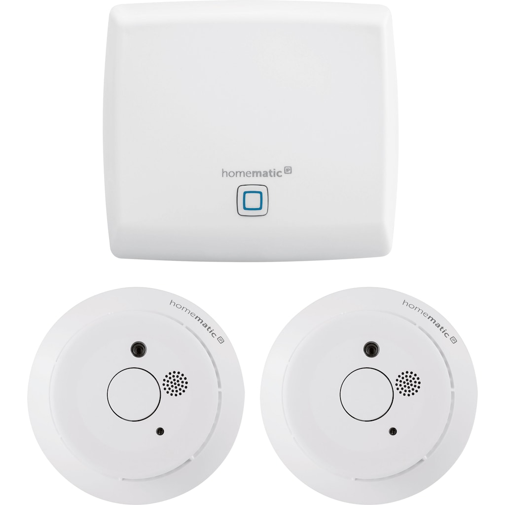 Homematic IP Smart-Home Starter-Set »Rauchwarnmelder (3-tlg.)«